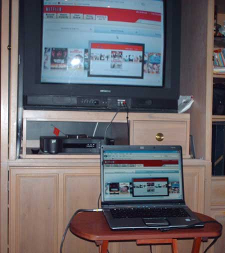 A Poor Man's Netflix Viewing System